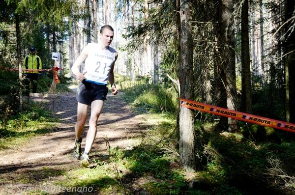 Tapani Kärjä oli nopein Ylivieska Trail Runin päämatkalla viime vuonna. Kuva: Sami Vuolteenaho